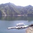 2006年9月4日田子倉湖の湖面