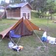 2006年9月4日沼沢湖畔でソロキャンプ